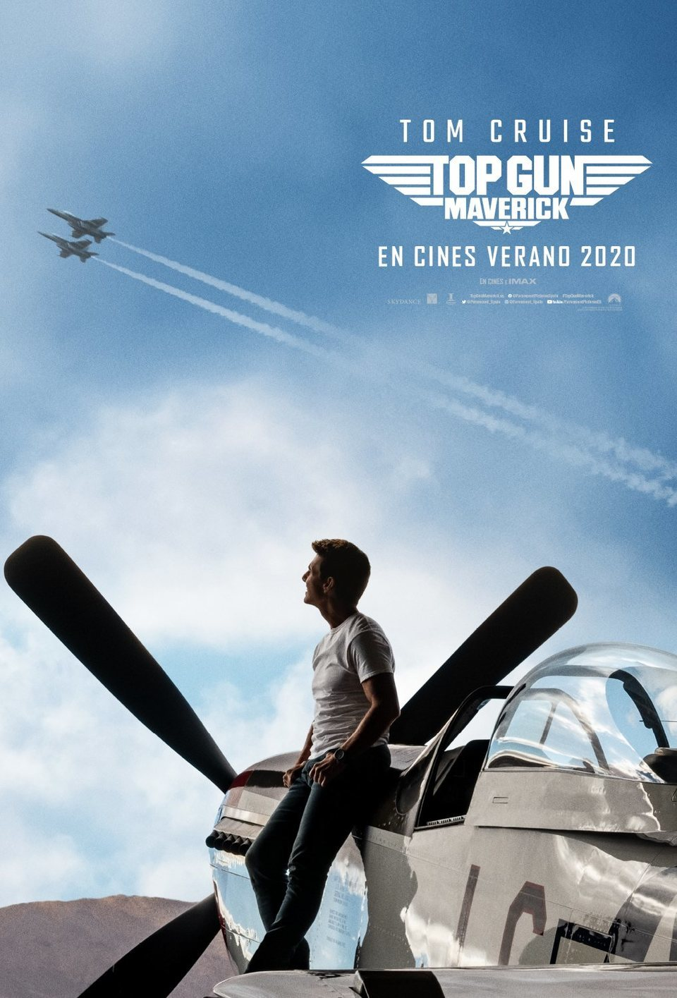 Cartel España #2 de 'Top Gun: Maverick'