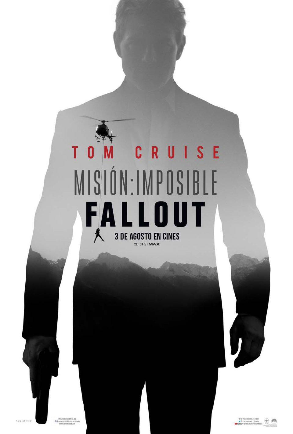 Cartel póster 1 de 'Misión Imposible: Fallout'