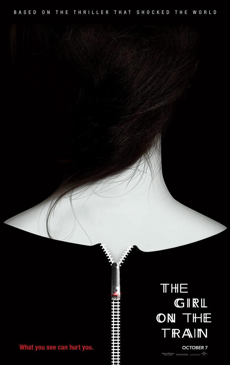 Cartel Teaser UK de 'La chica del tren'