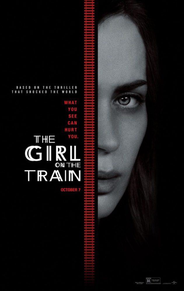 Cartel EE.UU de 'La chica del tren'