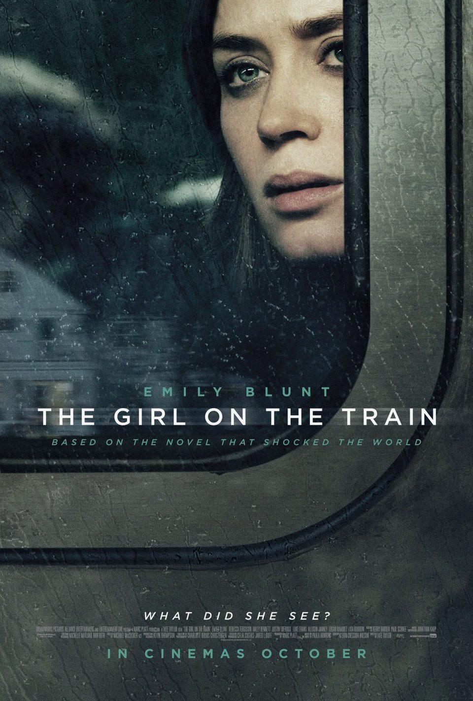 Cartel EE.UU #2 de 'La chica del tren'
