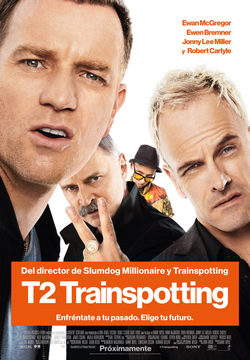 Cartel de T2: Trainspotting