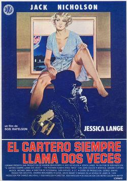 El Cartero Siempre Llama Dos Veces 1981 Pel 237 Cula