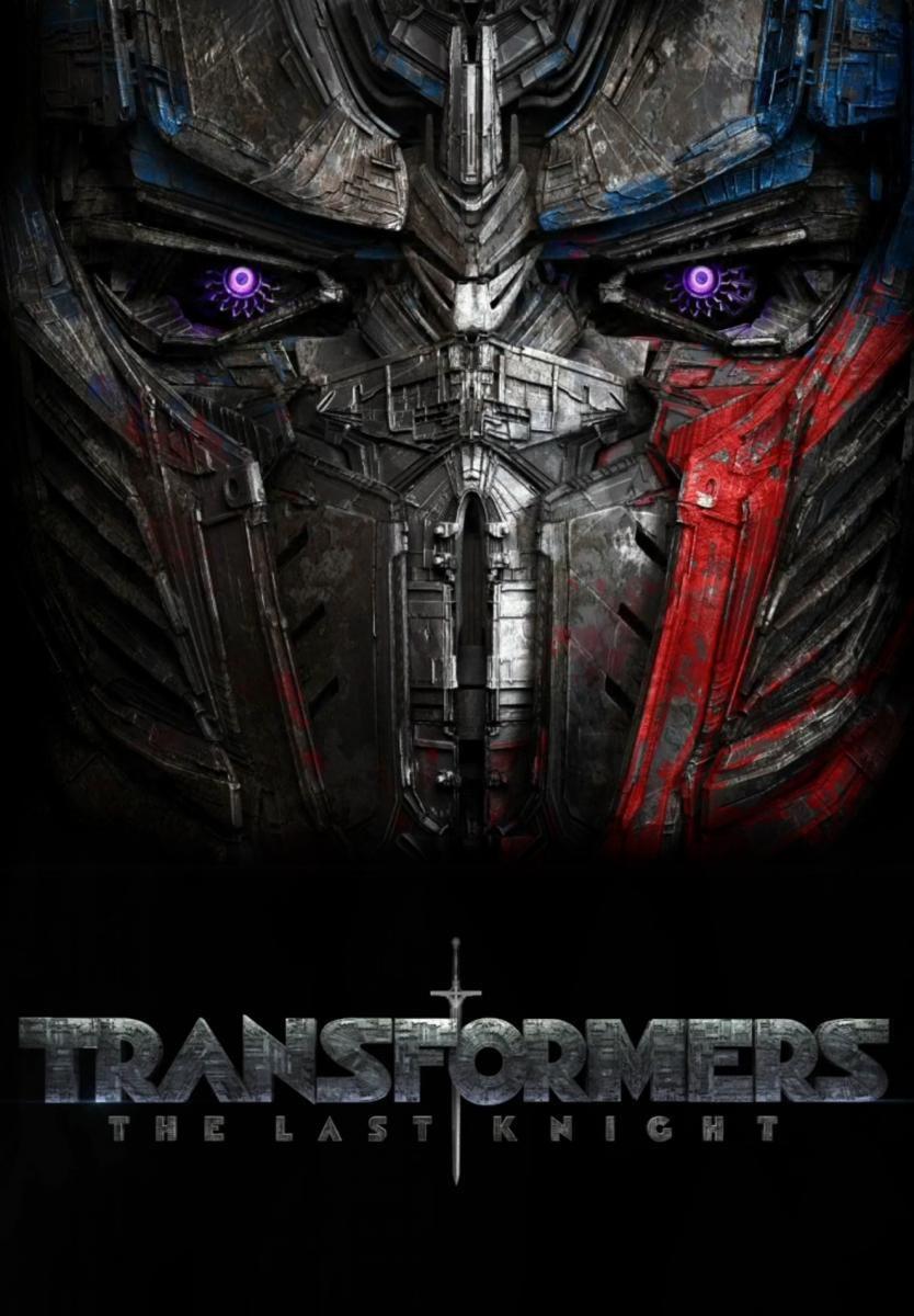 Cartel Estados Unidos de 'Transformers: El último caballero'