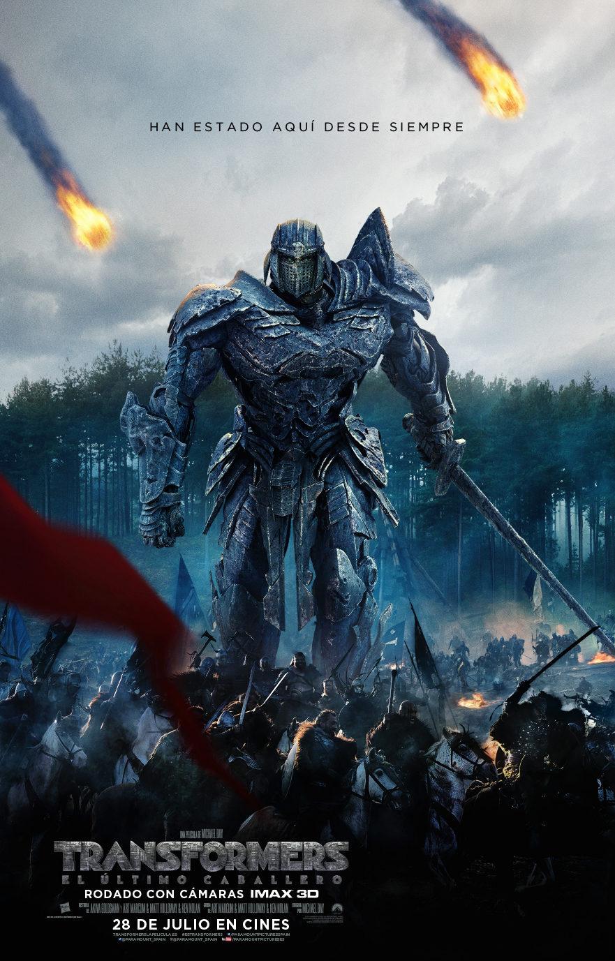 Cartel España de 'Transformers: El último caballero'