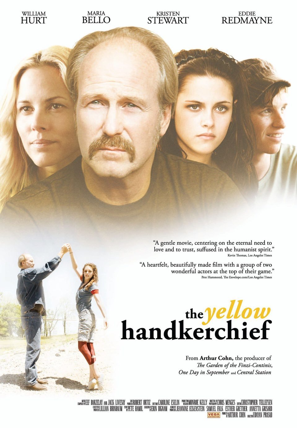 Cartel Internacional de 'The Yellow Handkerchief'