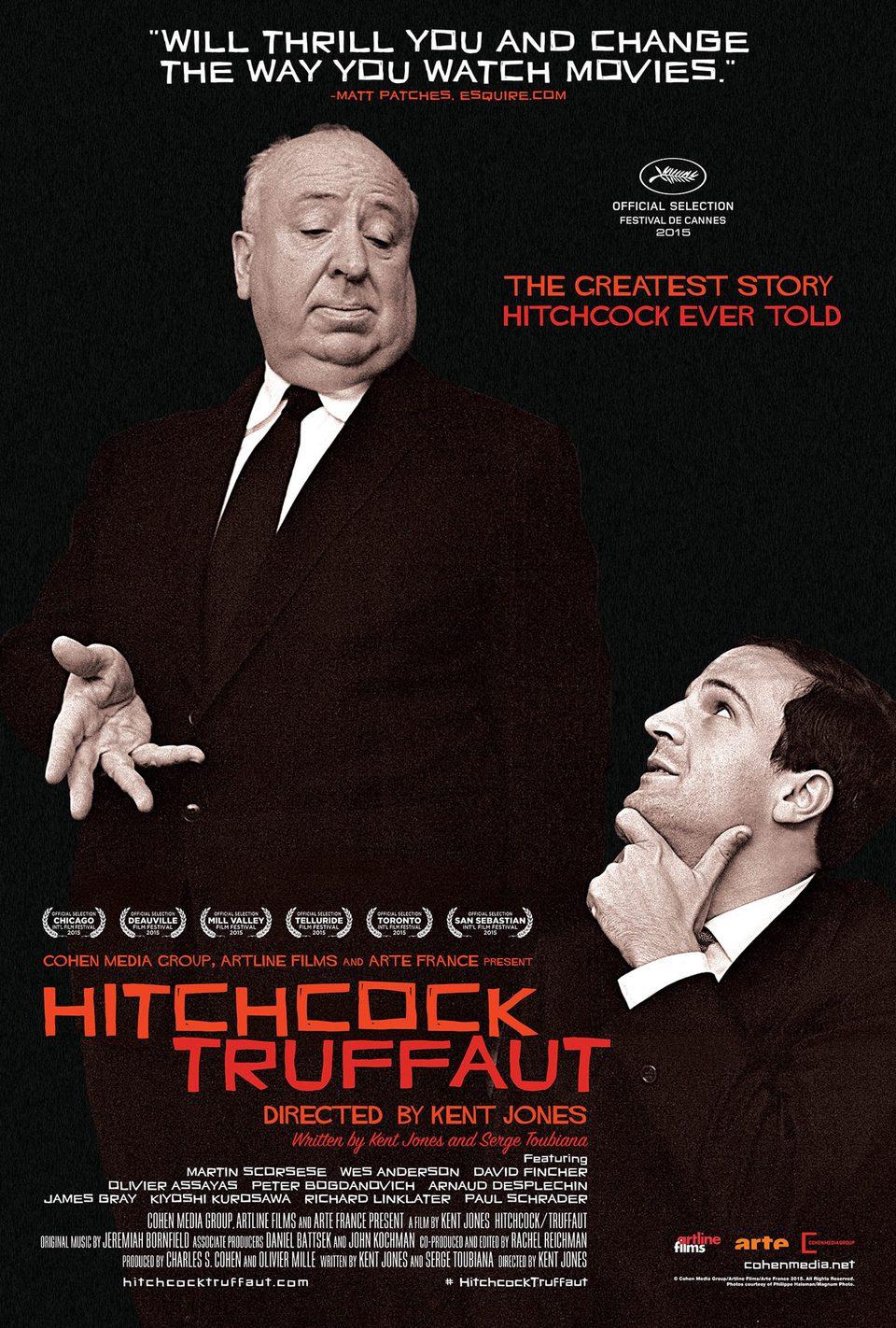 Cartel Estados Unidos de 'Hitchcock/Truffaut'