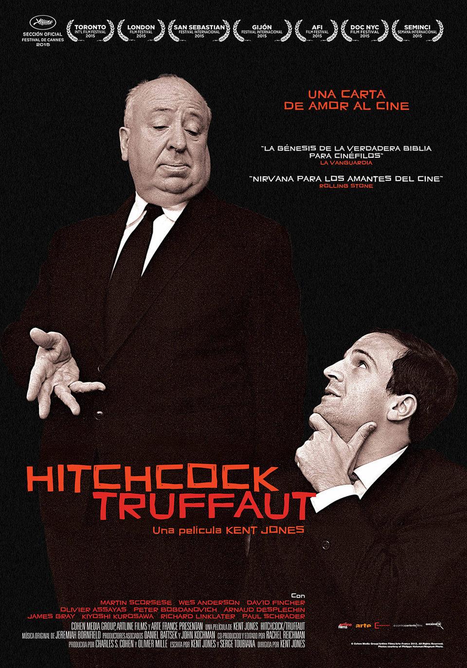 Cartel España de 'Hitchcock/Truffaut'
