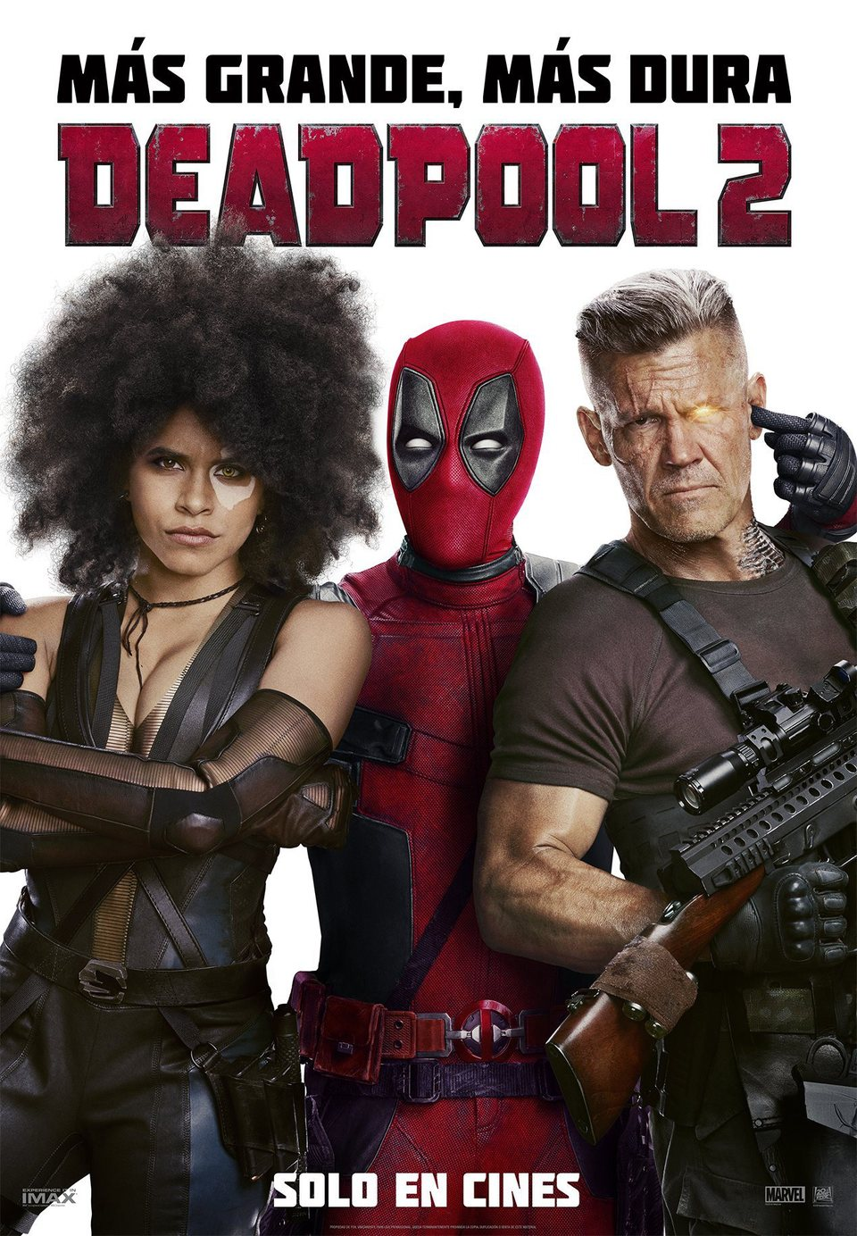 Cartel España de 'Deadpool 2'