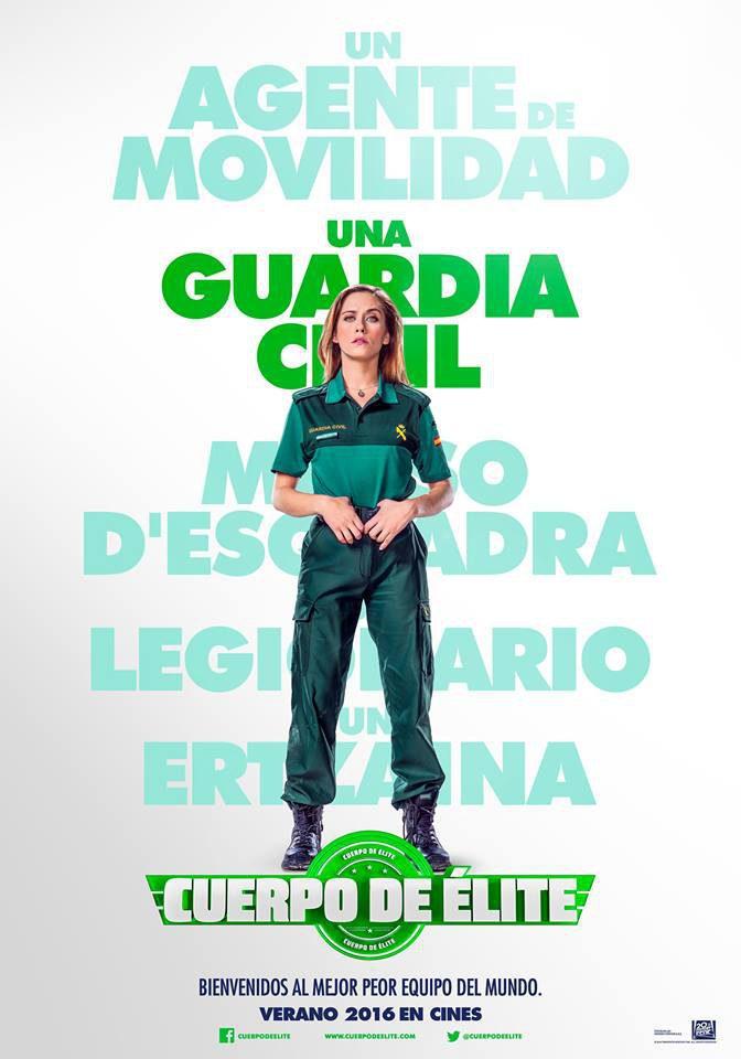 Cartel María León de 'Cuerpo de élite'