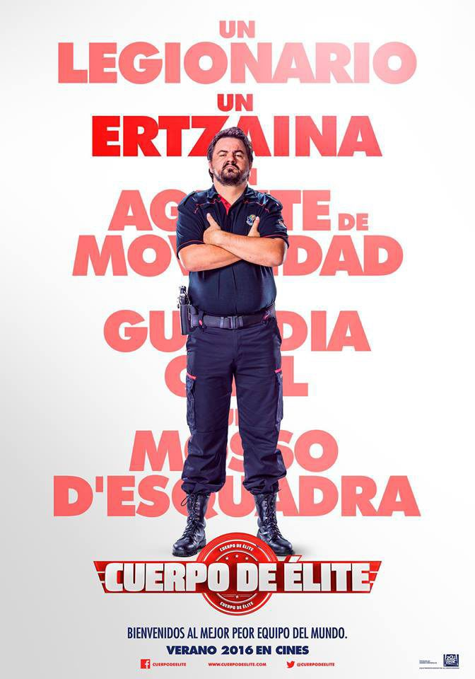 Cartel Andoni Agirregomezkorta de 'Cuerpo de élite'