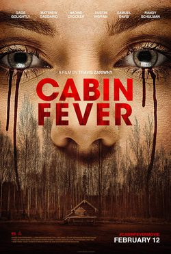 Cartel de Cabin Fever