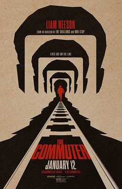 Cartel de The Commuter