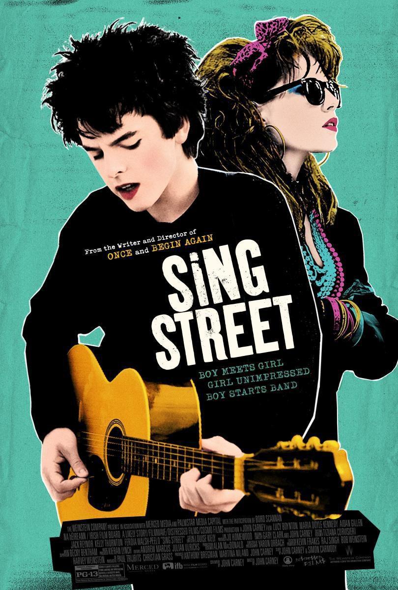 Cartel Irlanda de 'Sing Street'
