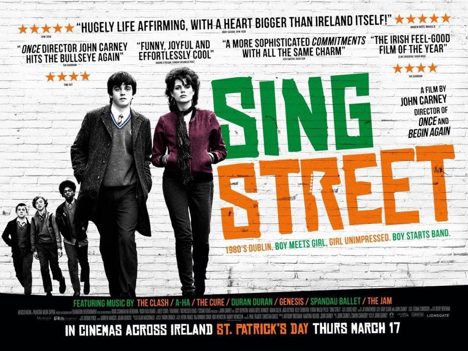 Cartel Reino Unido de 'Sing Street'