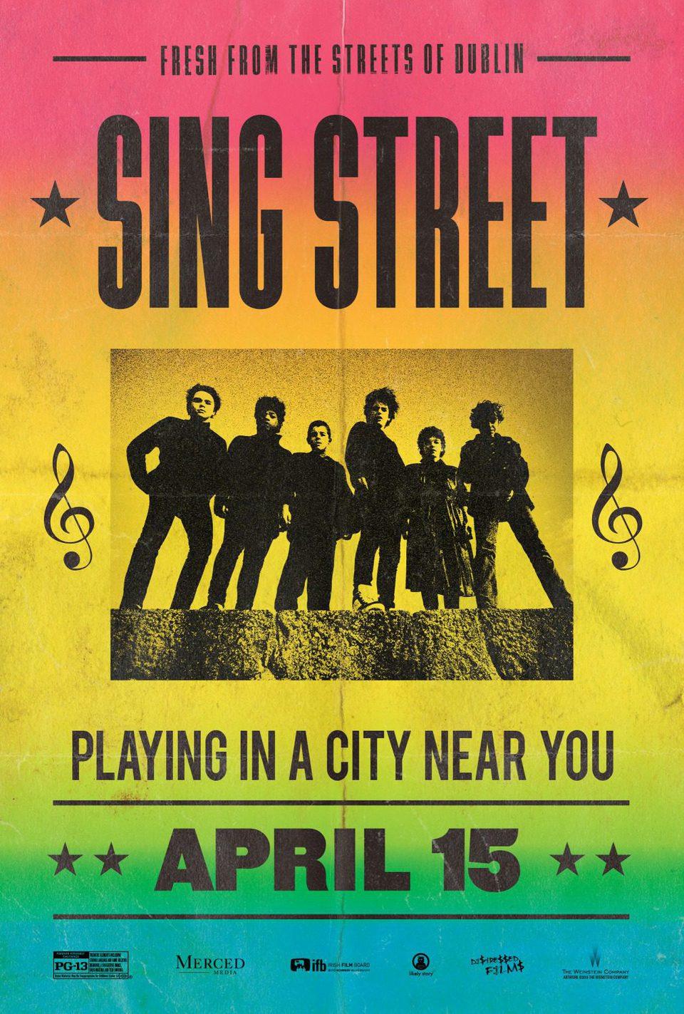 Cartel Teaser de 'Sing Street'