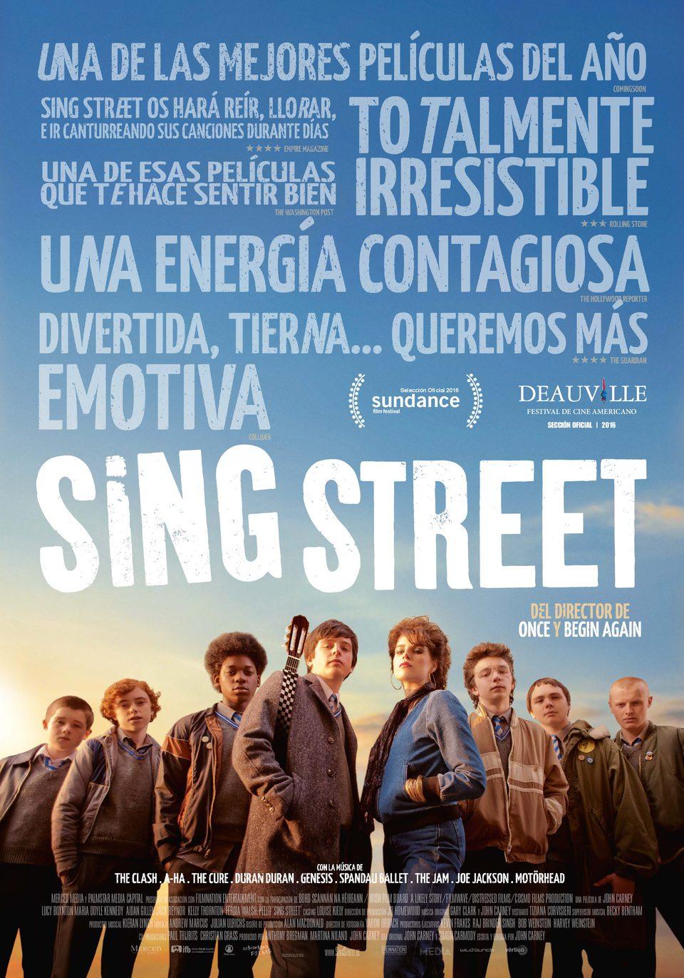 Cartel España de 'Sing Street'