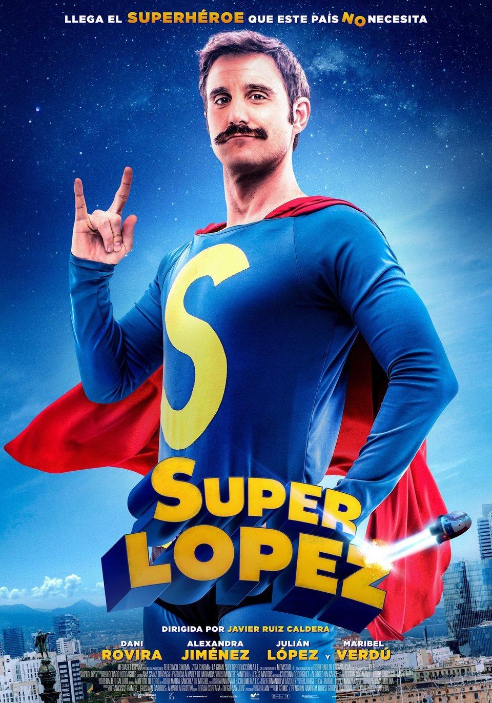 Cartel Definitivo de 'Superlópez'