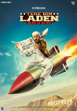 Cartel de Tere Bin Laden: Dead or Alive