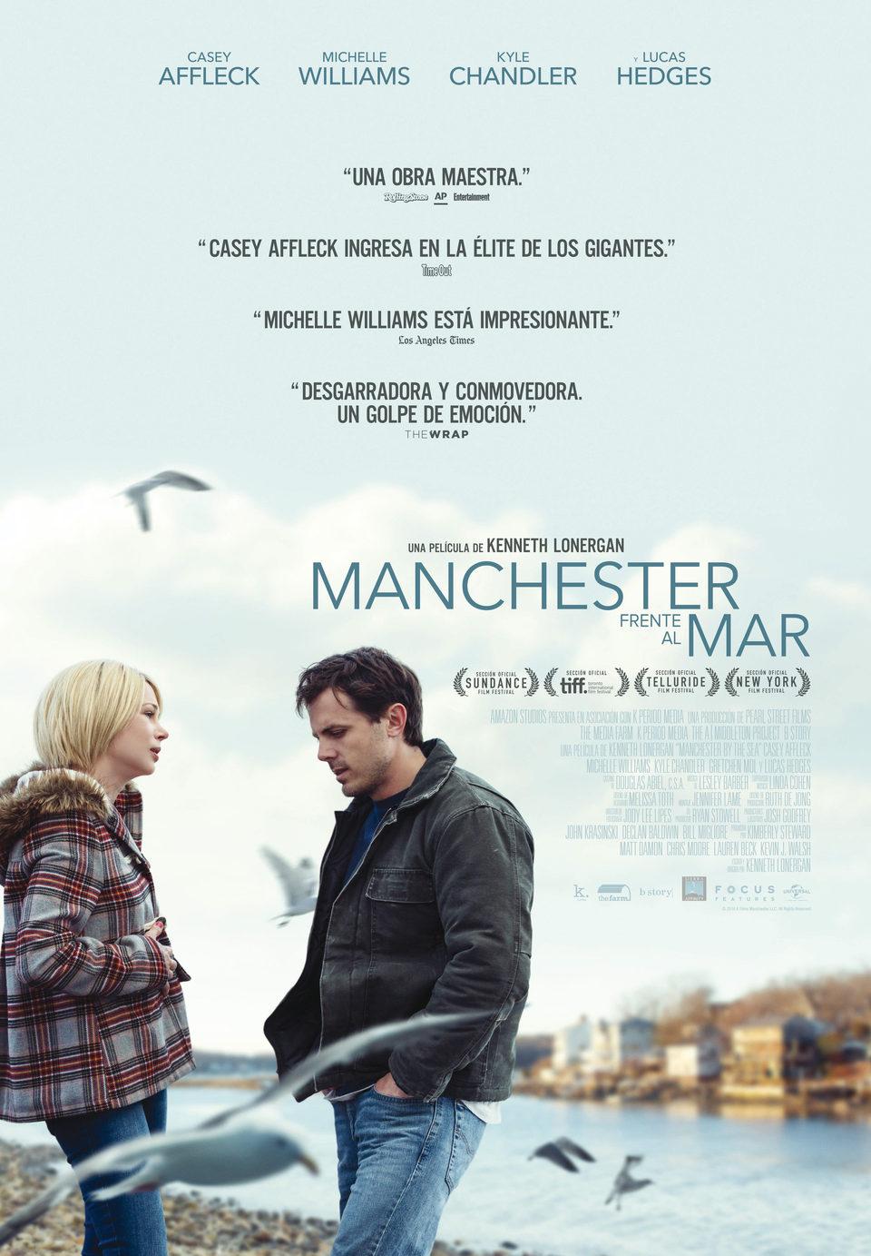 Cartel España de 'Manchester frente al mar'