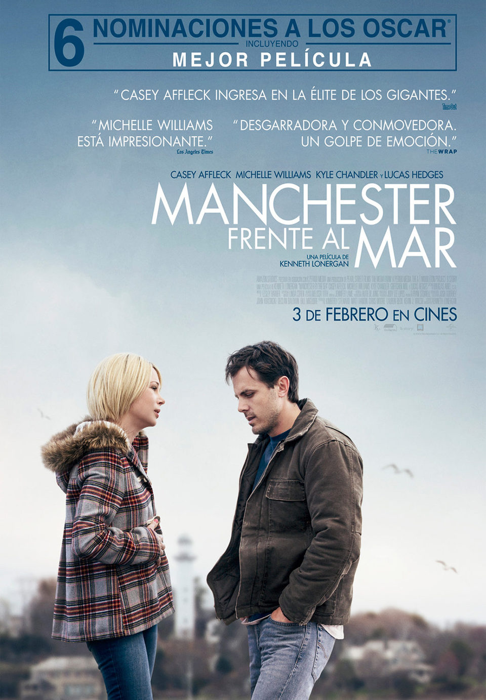 Cartel España #2 de 'Manchester frente al mar'