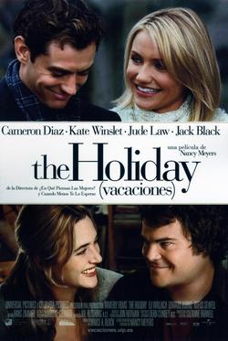 Cartel de The Holiday (Vacaciones)
