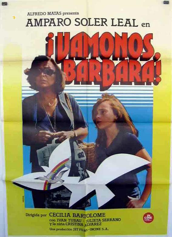 Cartel España #2 de 'Vámonos, Bárbara'