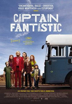 Cartel de Captain Fantastic