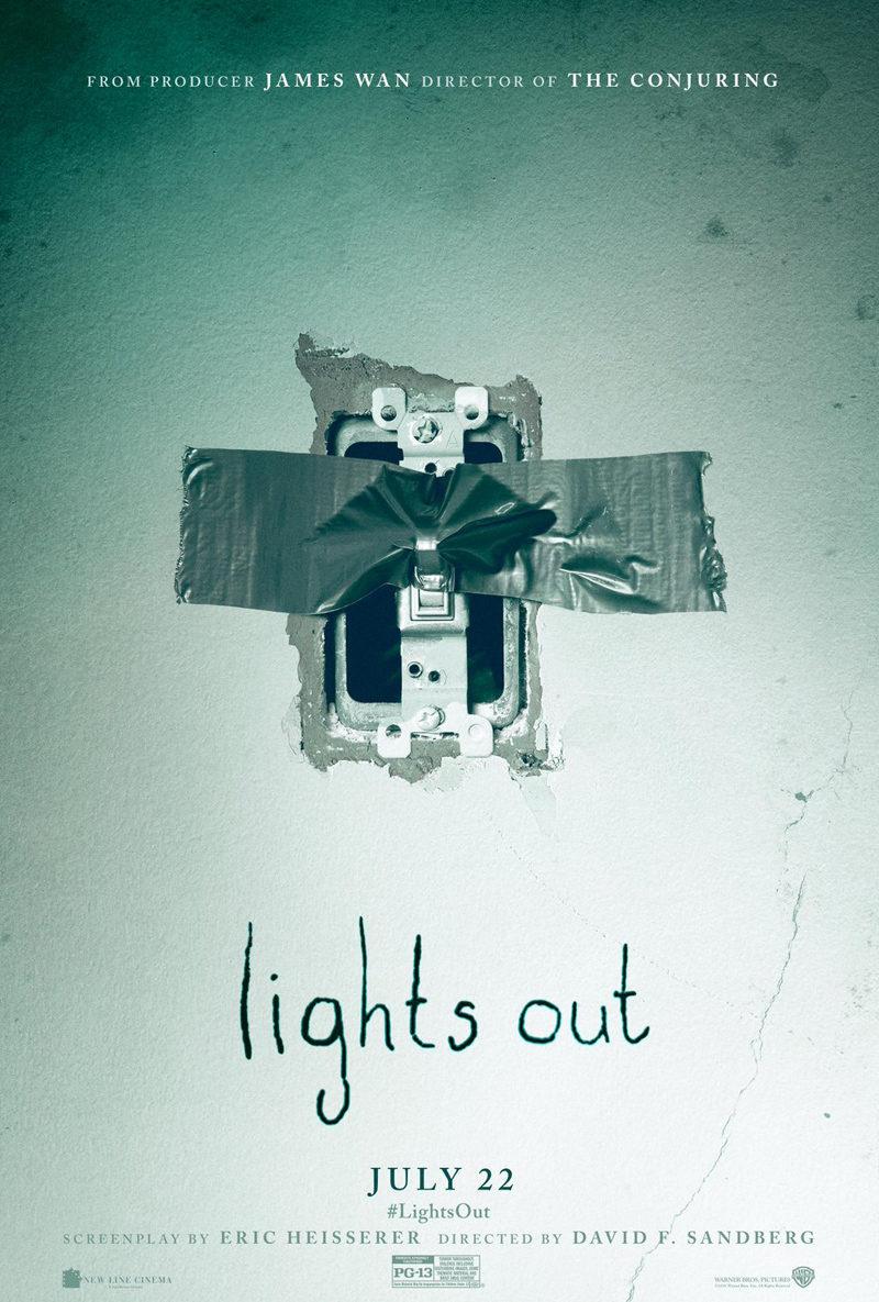 Cartel Estados Unidos de 'Nunca apagues la luz'