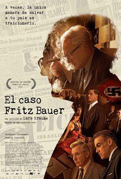 Cartel de El caso Fritz Bauer