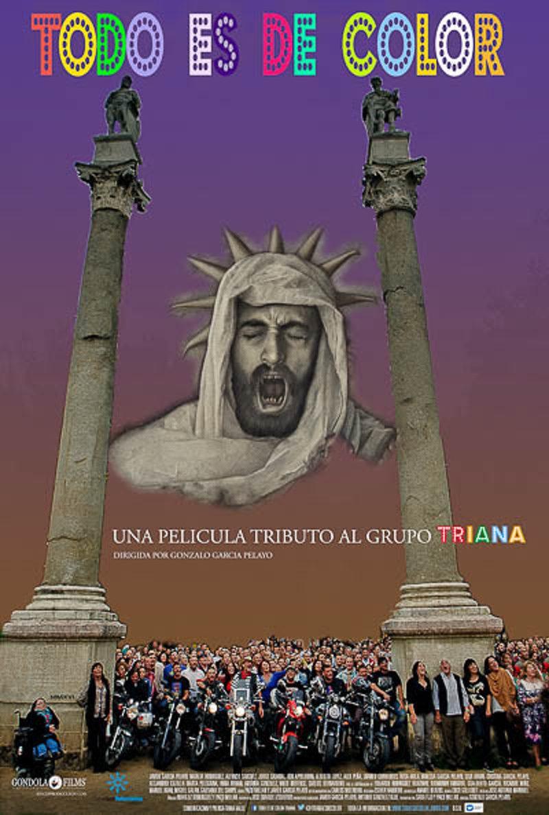 Cartel España de 'Todo es de color'