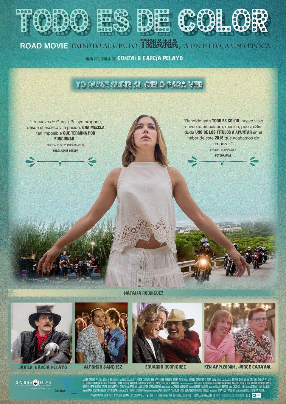 Cartel España Oficial de 'Todo es de color'
