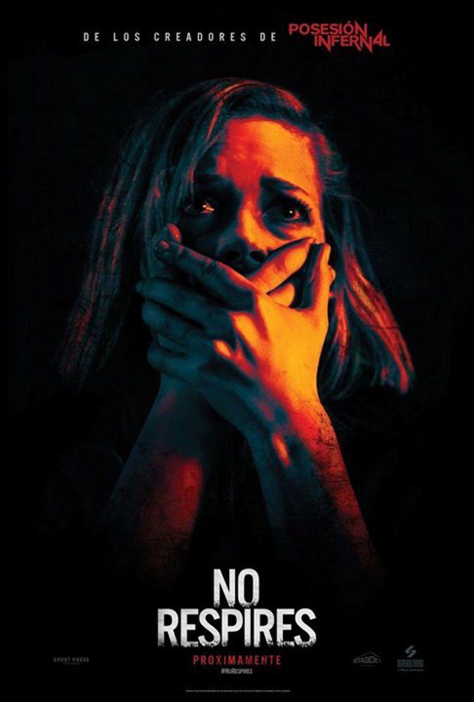 Cartel España de 'No respires'