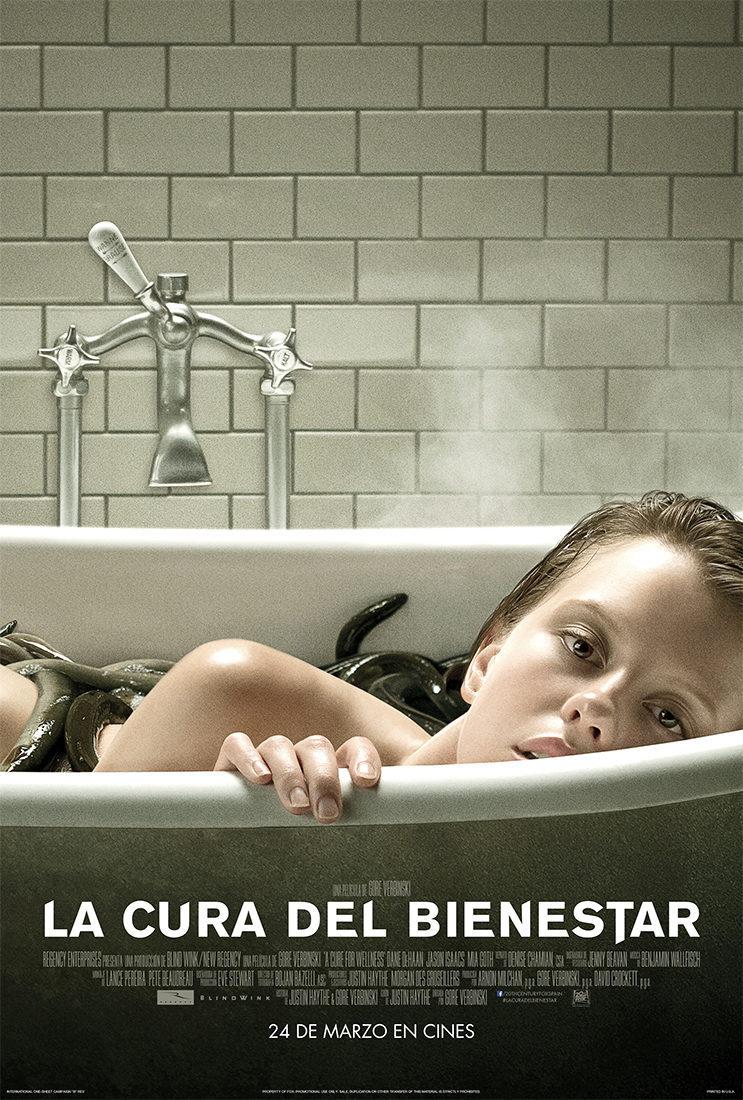 Cartel España II de 'La cura del bienestar'