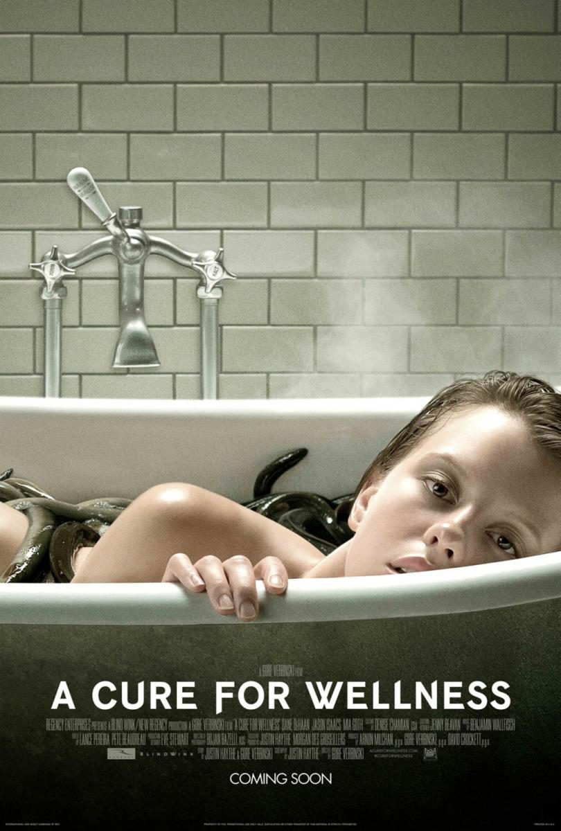 Cartel 'A cure for Wellness' de 'La cura del bienestar'