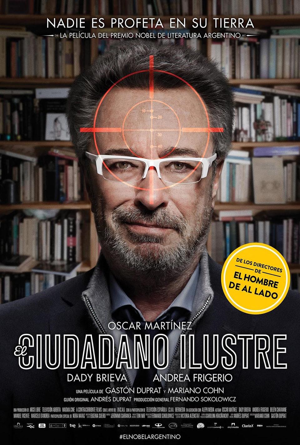 Cartel España #2 de 'El ciudadano ilustre'