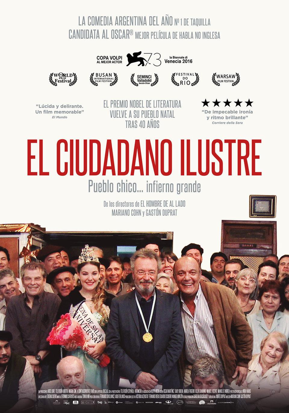 Cartel España #3 de 'El ciudadano ilustre'