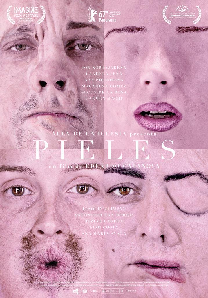 Cartel Nuevo cartel de 'Pieles'