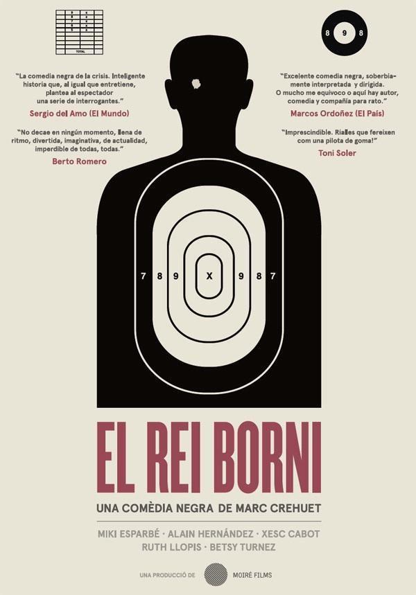 Cartel Catalán de 'El rey tuerto'