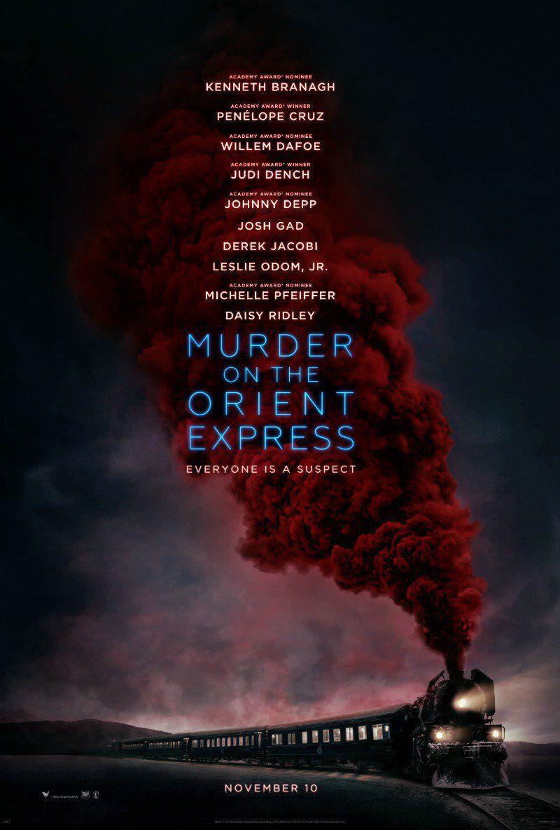 Cartel  de 'Asesinato en el Orient Express'
