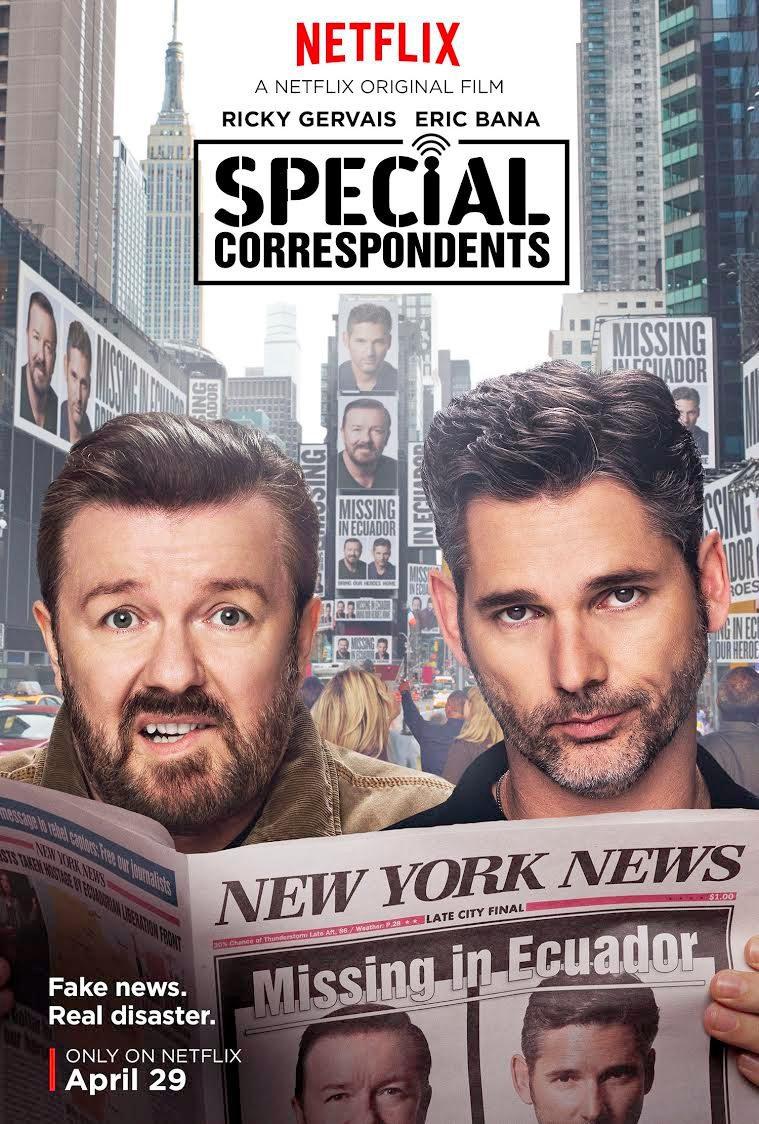 Cartel Special Correspondents de 'Special Correspondents'