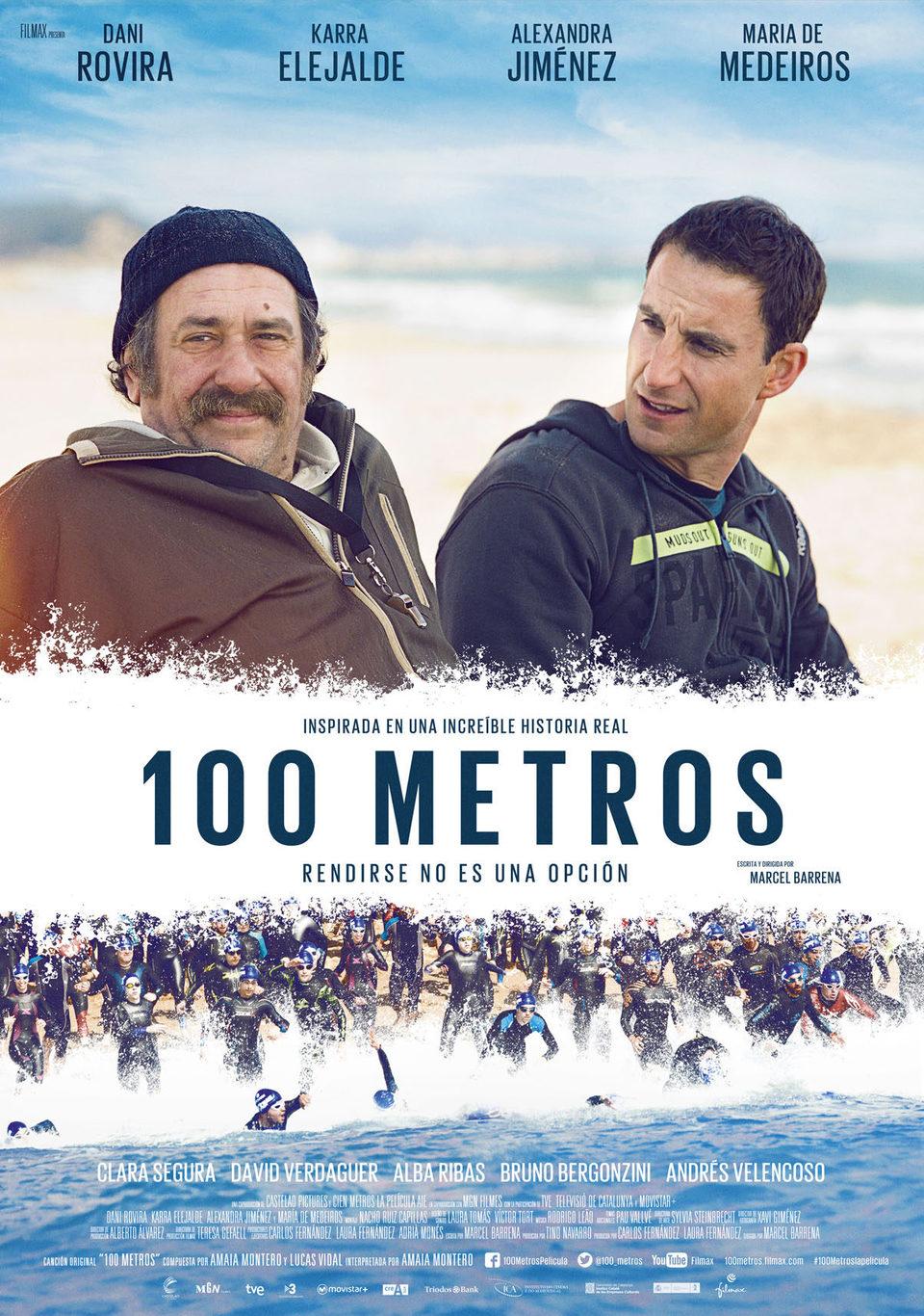 Cartel España de '100 metros'
