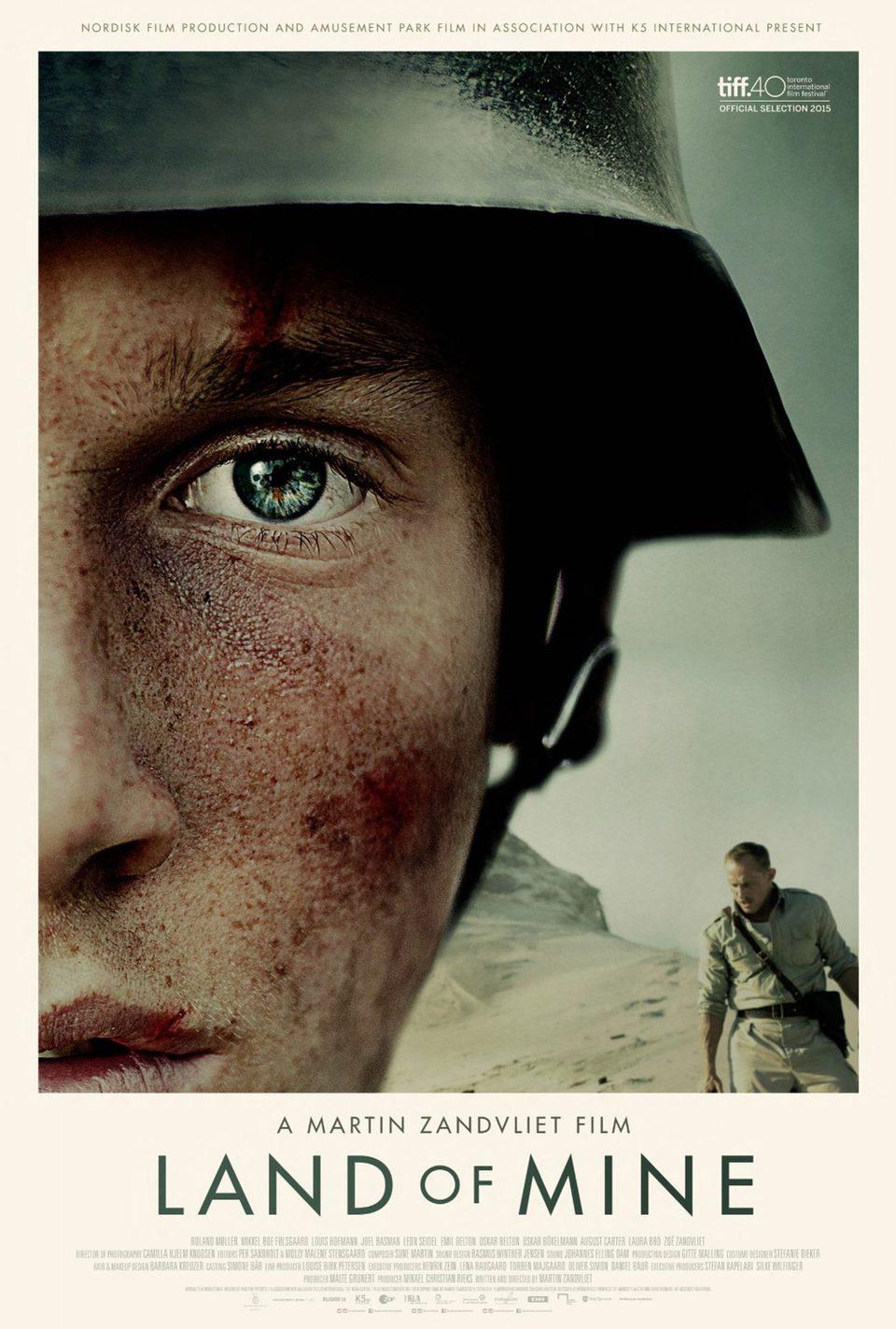 Cartel EE.UU de 'Land of Mine: Bajo la arena'