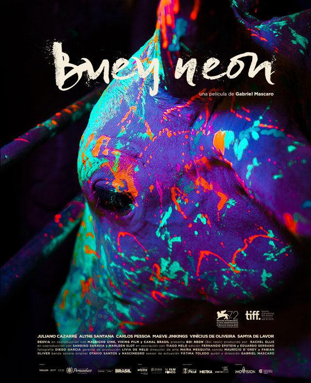 Cartel Latinoamérica de 'Boi Neon'