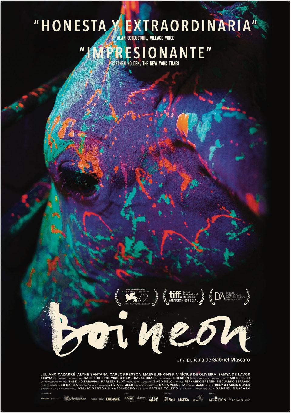 Cartel España de 'Boi Neon'
