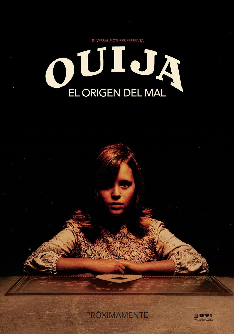 Cartel España de 'Ouija: El origen del mal'