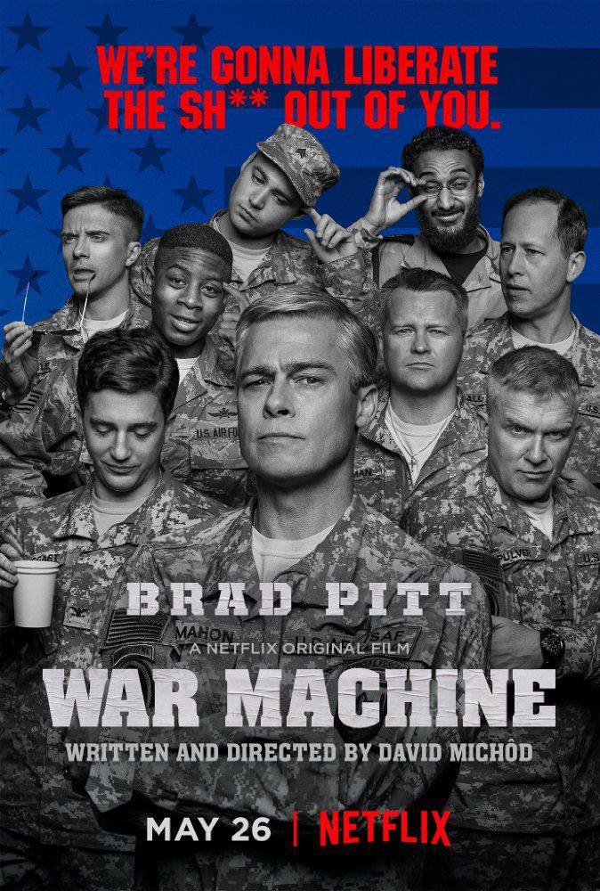 Cartel  de 'Máquina de guerra'