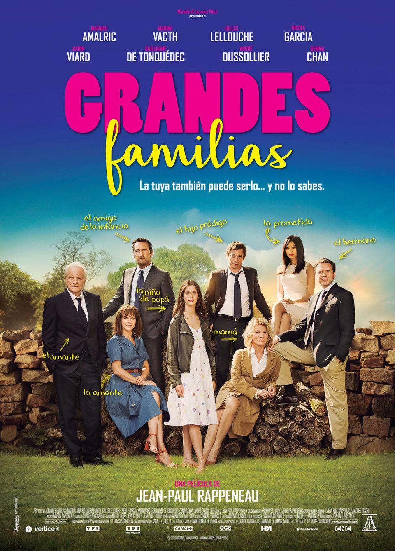Cartel España 2 de 'Grandes familias'