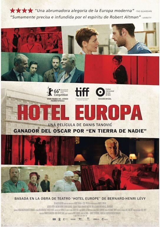 Cartel España de 'Hotel Europa'