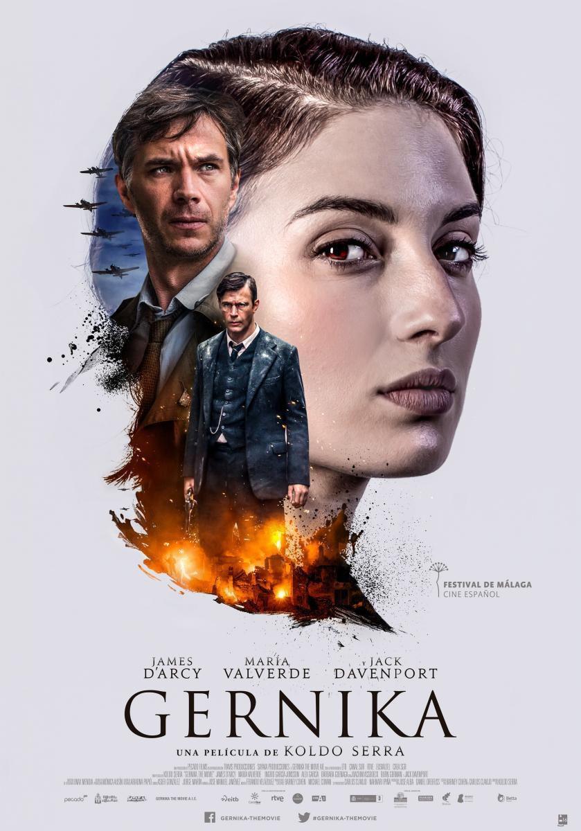 Cartel España de 'Gernika'